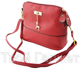 Женская сумка через плечо Бемби Red