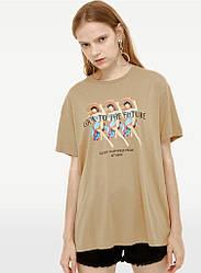 Футболка женская Look to the future Berni Fashion (S)