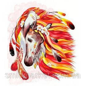 "Картина по номерам ""Лошадь"""