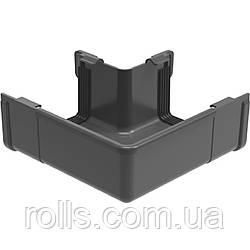 Угол внешний 90° Galeko PVC² 135/70×80 кут зовнішній 90° ринви водостічної RQ135-_-LZ090-G