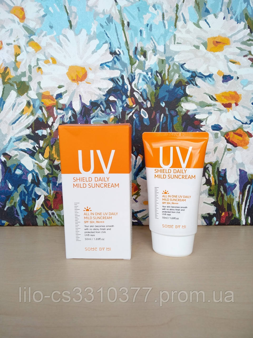 Солнцезащитный крем Some By Mi UV Shield Daily Mild Sun Cream SPF50+ PA+++