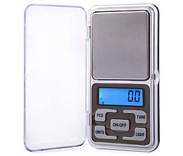 Электронные весы ювелирные LUX Pocket Scale 0.1-500гр mt-40, КОД: 1189648
