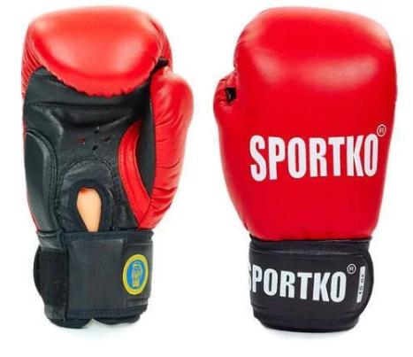 Перчатки боксерские кож. ФБУ Sportko SP-4705 10oz