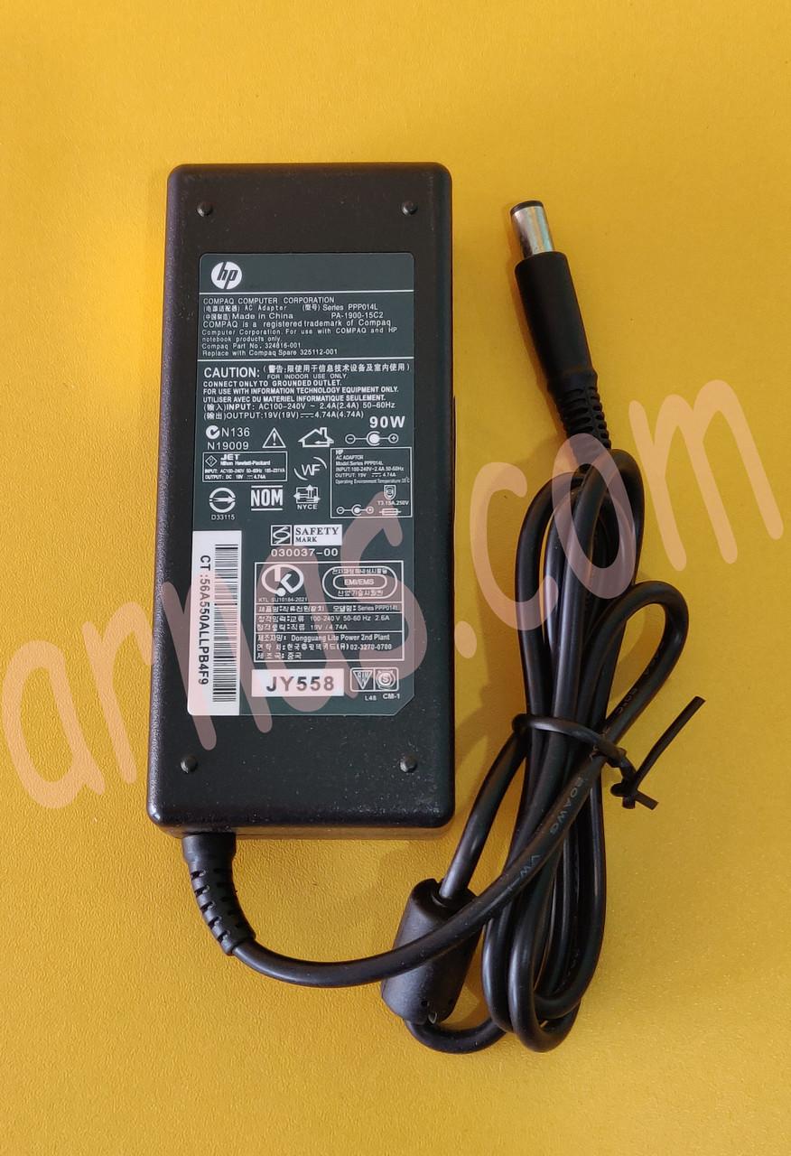 Блок питания HP 19V 4.74A (7.4 *5.0)