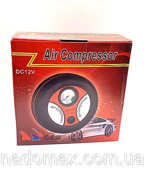 Компрессор насос автомобильный для шин 18бар 12В в прикуриватель, фото 2