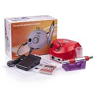 Фрезер для маникюра Nail Drill ZS-601(35 тысяч оборотов,45 ватт)Красный, фото 1