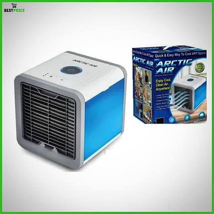 Портативный кондиционер 4в1 Rovus Arctic Air, охладитель и увлажнитель воздуха, мобильный кондиционер, фото 2