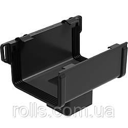 Воронка сливная Galeko PVC² 135/70×80 лійка ринви водостічної RQ135-_-OP080-G Черный