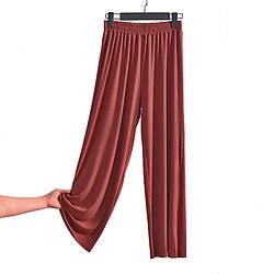 Брюки домашние женские Ease, бордовый Berni Fashion (M)
