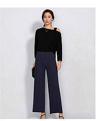 Брюки домашние женские Ease, синий Berni Fashion (M)