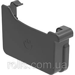 Заглушка левая Galeko PVC² 135/70×80 заглушка ліва ринви водостічної RQ135-_-ZL----G