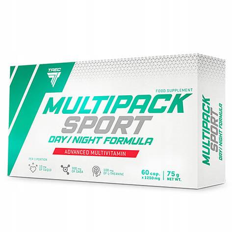 Витамины Trec Nutrition Multipack Sport Day / Night Formula 60 capsules, фото 2