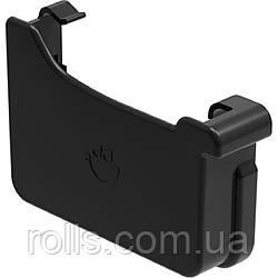Заглушка левая Galeko PVC² 135/70×80 заглушка ліва ринви водостічної RQ135-_-ZL----G Черный