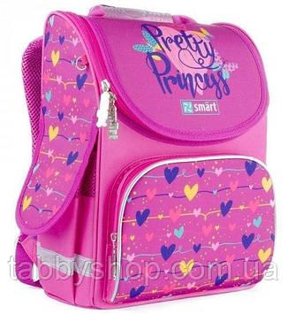 Ранец ортопедический для девочки Smart PG-11 Pretty Princess розовый