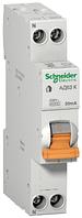 Дифференциальный автомат Schneider Electric АД63K 1P 16А 30мА (х-ка С) 12522