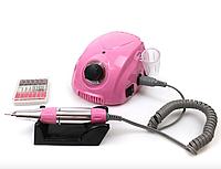 Фрезер для маникюра, Nail Polisher, DM-212, на 35000 оборотов, Розовый, фото 1