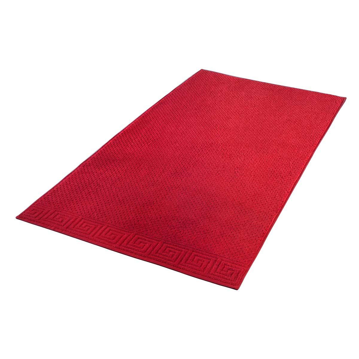 Полотенце Arya Жаккард 50x90 Meander (A106960) Красный
