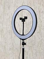 ✅Кольцевая лампа 26 см на штативе 2 м. Кольцевой свет для блогеров