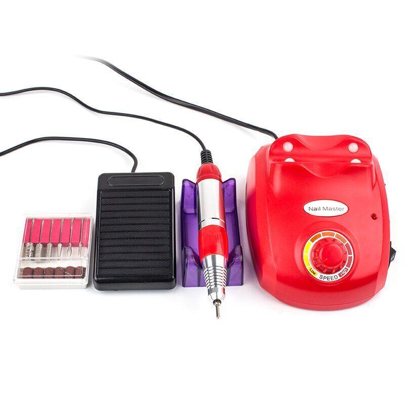 Фрезер для маникюра Drill pro ZS 603 45 Вт 35 000 об, Красный