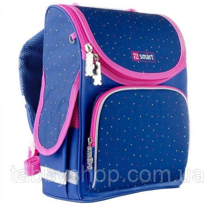 Ранец ортопедический для девочки Smart PG-11 Style синий