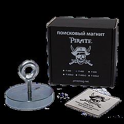 Поисковый магнит Пират F-400 односторонний + ТРОС 🎁