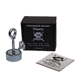 Поисковый магнит Пират F-80х2 двухсторонний