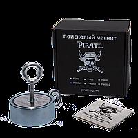 Поисковый магнит Пират F-300х2 двухсторонний + ТРОС 🎁