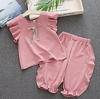 Ніжний літній костюм для дівчаток / Нежный летний костюм для девочек, костюм для девочки