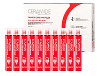 Филлер с керамидами Farmstay Ceramide Damage Clinic Hair Filler