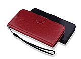Чехол - книжка для Xiaomi Redmi 8 с силиконовым бампером и отделением для карточек №2 Цвет Коричневый, фото 3