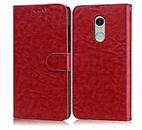 Чехол - книжка для Xiaomi Redmi 8 с силиконовым бампером и отделением для карточек №2 Цвет Коричневый, фото 2
