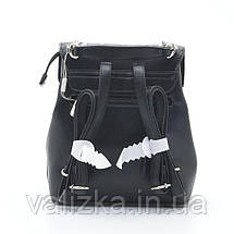 Рюкзак David Jones жіночий чорний 6209-2Т, фото 3