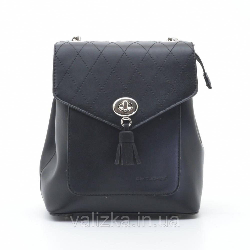 Рюкзак David Jones жіночий чорний 6209-2Т