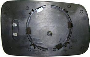 Левый вкладыш зеркала БМВ 7 E65 / E66 01-08 с обогревом асферический