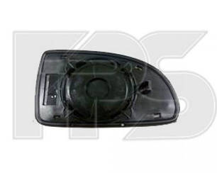 Левый вкладыш зеркала Хюндаи Гетц 02-11 без обогрева выпуклый