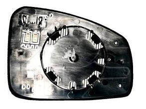 Левый вкладыш зеркала Рено SCENIC с обогревом асферический