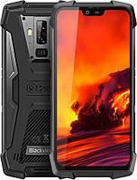 Смартфон противоударный с мощной батареей и двойной камерой на 2 sim Blackview BV9700 Pro black 6/128ГБ, фото 1
