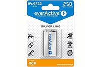 Аккумулятор EverActive EVHRL22-250, Крона, 250 mAh, Ni-MH, блистер 1 шт, фото 1