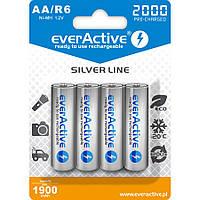 Аккумулятор EverActive EVHRL6-2000, AA, 2000 mAh, Ni-MH, блистер 4 шт