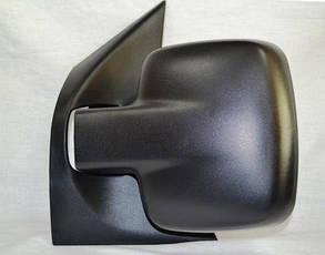 Левое зеркало Мерседес Вито -02 ручной привод; без обогрева; текстура; выпуклое