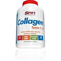 SAN Nutrition, Коллаген Collagen Types 1-3, 90 таблеток