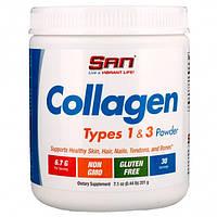 SAN Nutrition, Коллаген Collagen Types 1-3, 200 грамм
