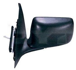 Левое зеркало Форд Эскорт -95 механический привод; без обогрева; плоское