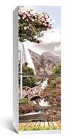 Самоклеющаяся виниловая пленка наклейка на холодильник IdeaX Япония 65х200 см