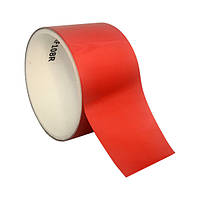Светоотражающая самоклеящаяся лента - 50мм х 5м, красная