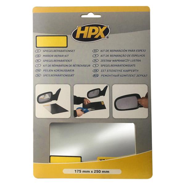 Набор для ремонта автозеркал HPX Mirror Repair Kit - 175мм х 250мм
