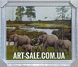 Картина Слоны, фото 3