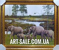 Картина Слоны, фото 1