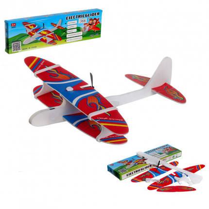 Літак з моторчиком Aircraft, фото 2