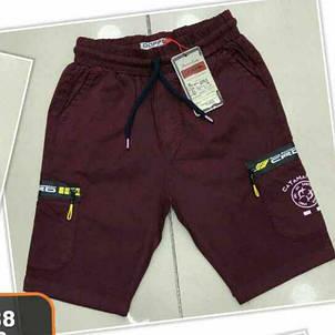 Модные коттоновые шорты на мальчиков 134,140,146,152 роста KATAMARAN, фото 2